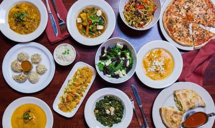 Dinner or Lunch for Two or More People at Taste of the Himalayas (Up to 60% Off). Three Options Available.