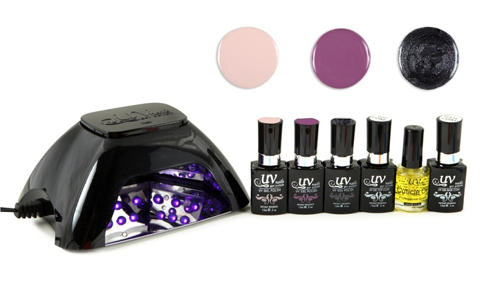 UV-Nails Salon-Quality Gel Nail Polish Set