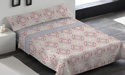 Juego de sábanas 3 piezas con funda de almohada