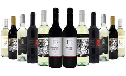 Aussie Bold Red, White or Mixed Wine Case: 12 Bottles ($69) or 24 Bottles ($129) (Don't Pay up to $480)