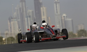 Single Seater at Dubai Autodrome: Single Seater Driving Experience at Dubai AutoDrome (40% off)