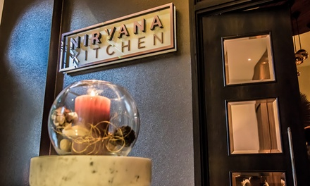 Six-Course Meal with Prosecco for Two or Four at Nirvana Kitchen at The Montcalm London Marble Arch