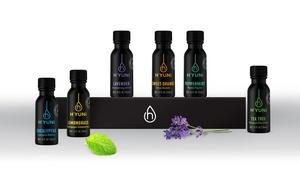 H'YUNi 100% Pure Therapy-Grade Essential Oil Set (15ml 6-Pack)