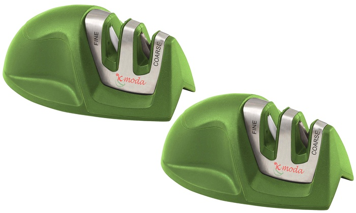 how to use a two stage knife sharpener