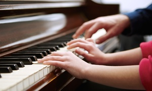 Piano4Everyone: Two or Four Children's Piano Classes or One Adult Piano Workshop at Piano4Everyone (Up to 71% Off)