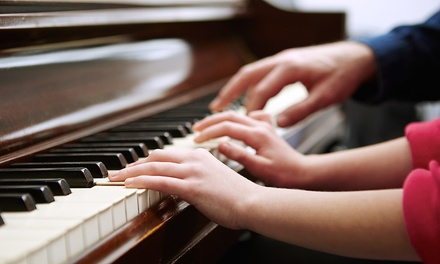 One, Three or Five Piano Lessons at Pro Music (Up to 64% Off)