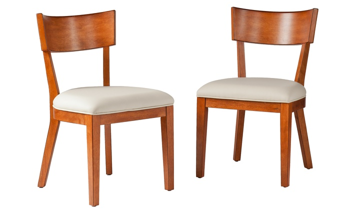 Two Paolo Dining Chairs Groupon Goods