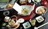 4,980円/名|秋の味覚 「贅沢 松茸と鱧コース」+1ドリンク|ランチ&ディナー