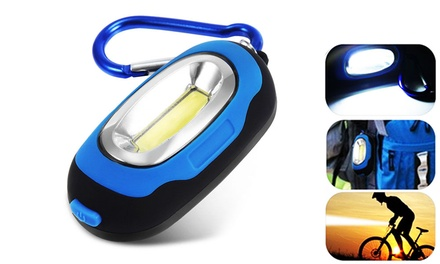 $19 for Four Portable Mini COB LED Flashlights