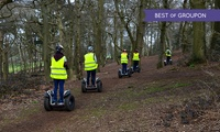 One-Hour Segway Experience with a £5 Tea Voucher for One or Two from Dorset Segways (Up to 53% Off)