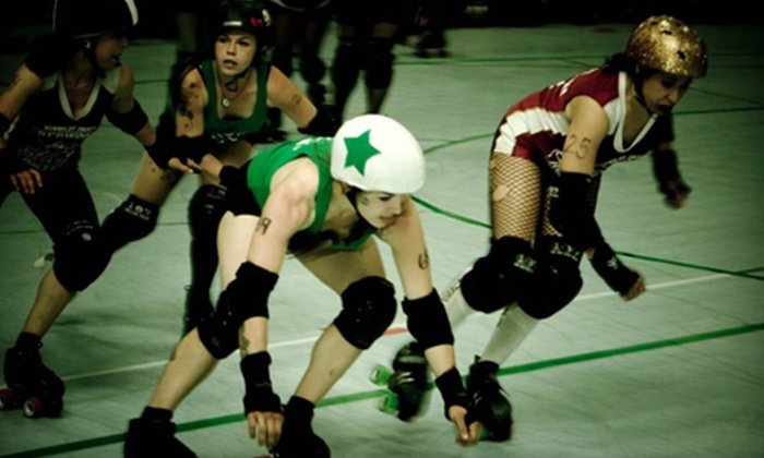 Port City Roller Girls - Stockton Indoor Sports Complex: $25 for Port City Roller Girls Double-Header for Two at Stockton Indoor Sports Complex on September 8 (Up to $40 Value)