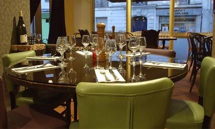 Entrée, plat et dessert au choix sur toute la carte pour 2 ou 4 personnes dès 49,99 € au Restaurant Montmartre