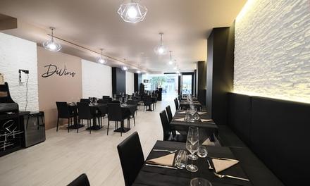 Menú degustación a elegir para 2 o 4 personas con 9 o 10 platos, bebida y café desde 24,90 € en Ristorante Divino