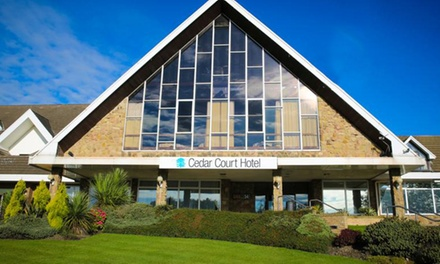 West Yorkshire: Double or Twin Room for Two with Breakfast, Dinner, and Leisure Access at Cedar Court Hotel Huddersfield