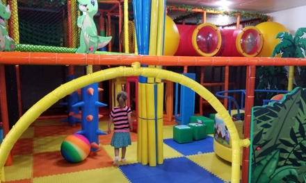 One Open Play Visit for One, Two, or Four Children at Yippie's Playcenter (Up to 41% Off)