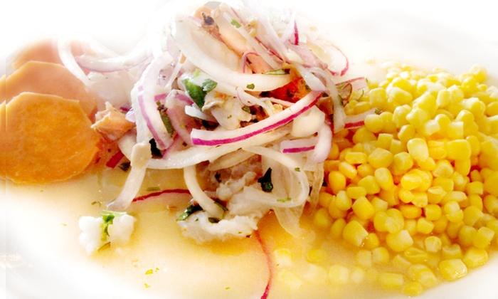The Lemon Tree Restaurant - Briarforest: $10 for $20 Worth of Peruvian Food at The Lemon Tree Restaurant