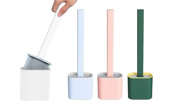 Flexible Silicone Toilet Brush