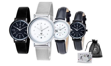 Reloj para mujer Sc Crystal Paris con cristales Swarovski®