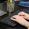 Xtreme Tech 2.4GHz Wireless Keyboard with USB Receiver