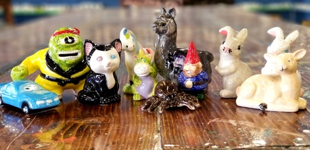 Pottery Painting Class for One, Two, or Four with Figurines  and Paints at Kiln It (Up to 50% Off)