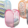 Sunbeam Mesh Laundry Hamper with Carry Handles (2-Pack)