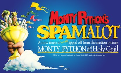 image for Monty Python's Spamalot, 10 May at Cast (Up to 53% Off)