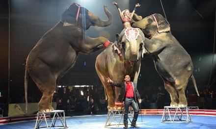 Shrine Circus on September 27 at 7 p.m.