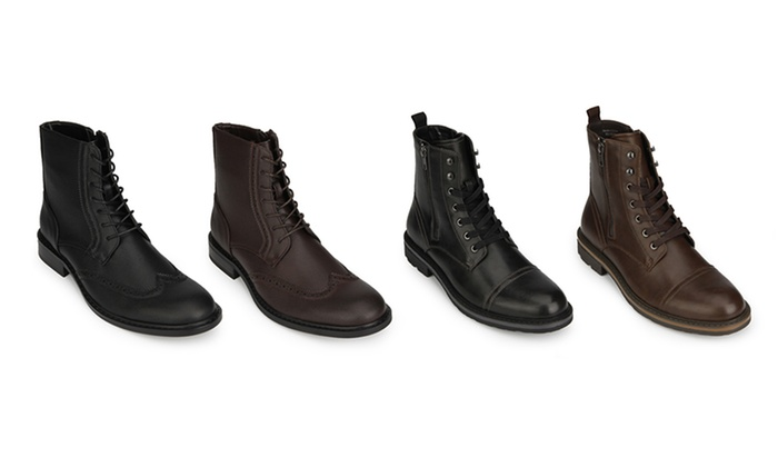 3566646505 Up To 72% Off on Kenneth Cole Men s Leather Boots