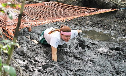 Mega Mud Run Challenge Entry for One or a Four-Person Team at Legare Farms on Saturday, May 2 (Up to 54% Off)