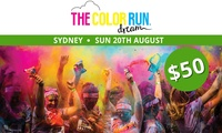 The Color Run™ Dream Tour - Entry for $50 (Plus Booking Fee), 20 August, Centennial Park (Up to $68 Value)