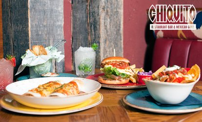 Two-Course Meal with Two Drinks Each for Up to Four at Chiquito (Up to 49% Off)