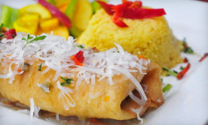 Havana Comida Latina - Downtown Asheville: Two-Course Meal with Appetizer and Entrees for Two or $12 for $25 Worth of Cuban and Latin Fare at Havana Comida Latina