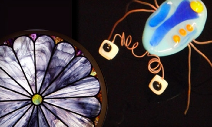 Stained Glass of McKinney - Dallas: Jewelry Fusing Workshop or a Crash Glass Class at Stained Glass of McKinney