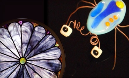 Stained Glass of McKinney: 1 Jewelry Fusing Workshop - Stained Glass of McKinney in McKinney
