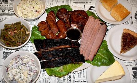 Family-Style Dinner - Texas Brisket BBQ in San Antonio