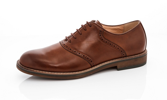 Franco Vanucci Men's Classic Oxford Shoes (Sizes 9 & 9.5)