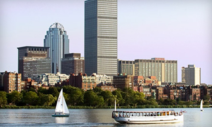 Charles Riverboat Company - East Cambridge: $8 for Charles River Tour for One from Charles Riverboat Company in Cambridge ($14.80 Value)