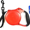Lightweight Retractable Dog Leash with Free Waste Bags