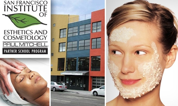 San Francisco Institute of Esthetics and Cosmetology - Multiple Locations: Luxury Facial and a Revitalizing Eye Treatment at SFIEC