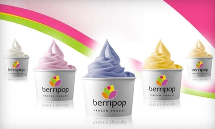 Berripop Frozen Yogurt - Multiple Locations: $5 for $10 Worth of Frozen Treats at Berripop Frozen Yogurt