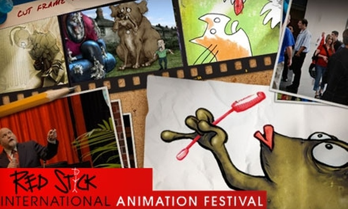 Red Stick International Animation Festival - Garden District: Half Off One Pass to the Red Stick International Animation Festival. Choose from Two Options.