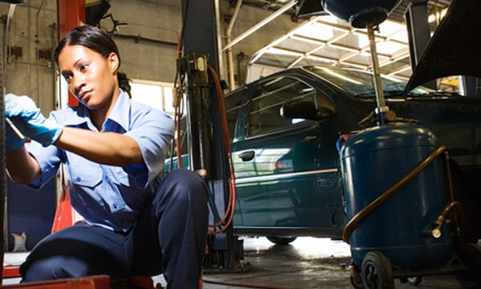 Auto Clinic - River Park: Premium Oil Change, Headlight Restoration, or Winterization Package at Auto Clinic in Mishawaka (Up to 63% Off)