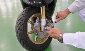 Officina Ponente Moto: Tagliando e check up scooter fino a 600 cc e sostituzione freni anteriori all'Officina Ponente Moto (sconto fino a 84%)