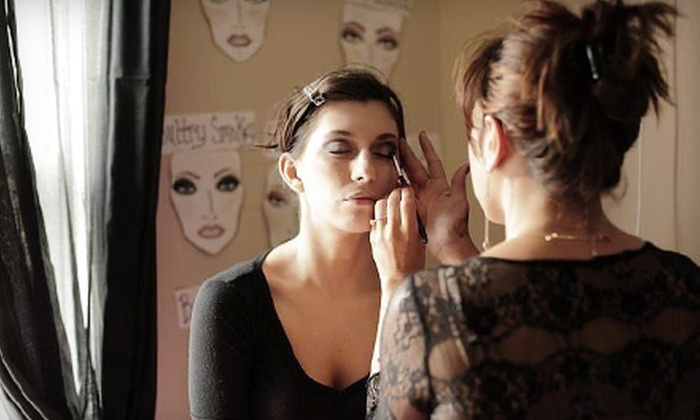 The Face and Body Spa - Yardley: $150 Worth of Hair and Makeup Services