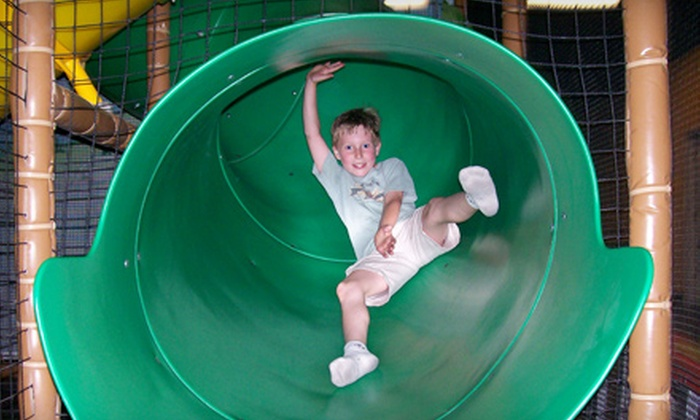TreePaad Fun Center - Malta: $24 for All-Day Admissions for Four Children to Fort Ballocity at TreePaad Fun Center in Malta ($48 Value)