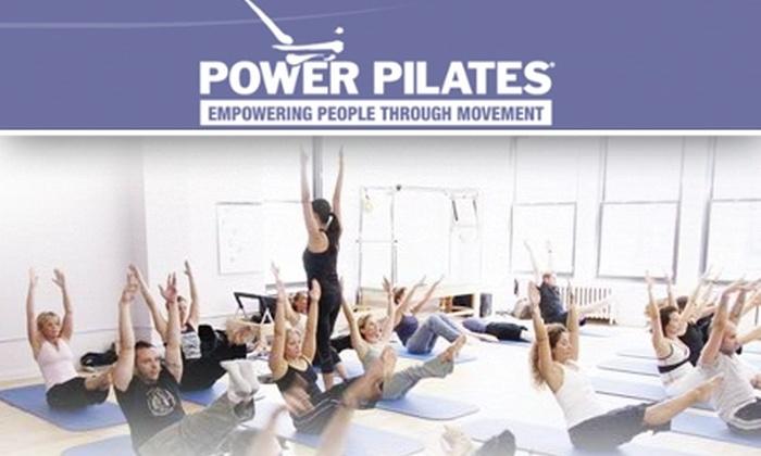 Power Pilates  - New York City: $45 for 10 Pilates Mat Classes at Power Pilates ($180 Value)