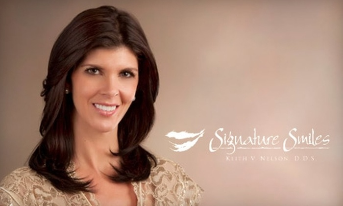 Signature Smiles Luxury Dental Spa - Taylorsville: $149 for Botox, Laser, or Smile Package at Signature Smiles Luxury Dental Spa (Up to $1,699 Value)