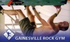 Gainesville Rock Gym - Porters Community: $6 for an Adult Day Pass to Gainesville Rock Gym ($13.25 Value)