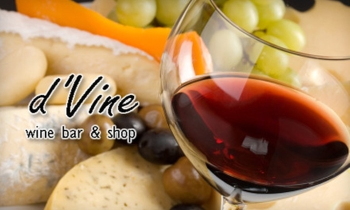 d'Vine Wine Bar - Chamblee-Doraville: $20 for $40 Worth of Wine and Tapas at d'Vine Wine Bar in Dunwoody