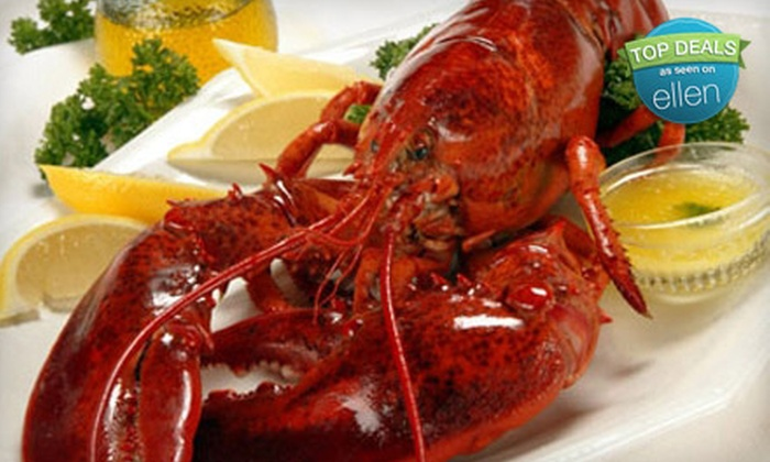 Get Maine Lobster: $99 for $200 Worth of Fresh Lobster, Seafood, and Steaks from Get Maine Lobster